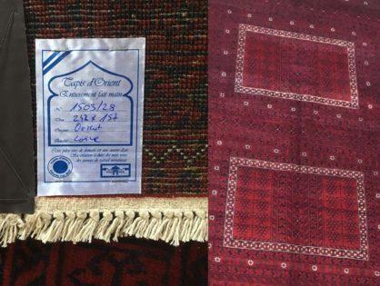 Vente tapis d'Orient à Belfort